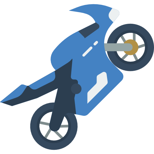SkyBlue Motorcycle insurance - Motorcycle Icon
